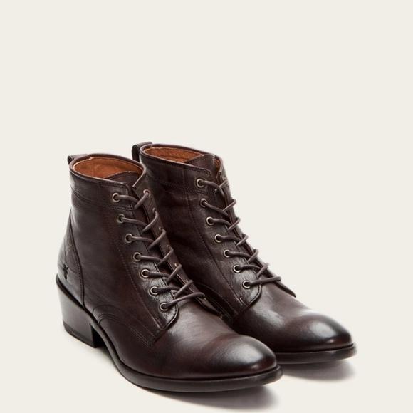 Frye Shoes | Frye Carson Lace Up Sz 7